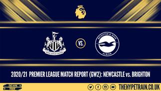 Premier League Match Report (20/09/20): Newcastle 0-3 Brighton