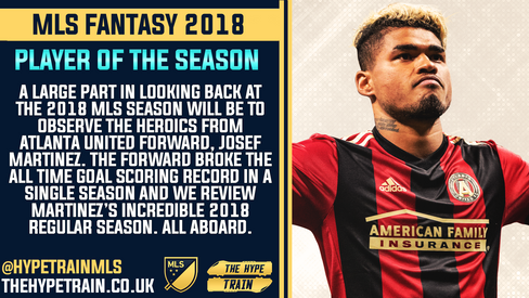 MLS Fantasy 2018 Review: Player of the Season