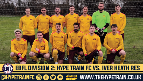 EBFL Division 2 Match Report: Hype Train FC 3-2 Iver Heath FC Reserves