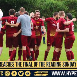 Hype Train FC reach the Reading Sunday Social League (RSSL) Final!