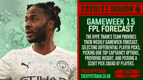 Premier League 2020/21: FPL Gameweek 15 Fantasy Forecast
