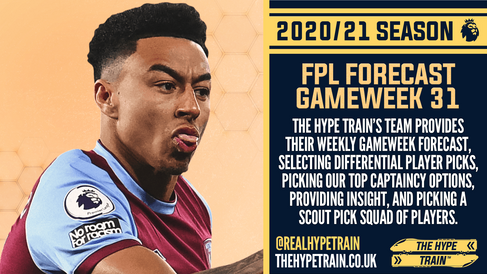 Premier League 2020/21: FPL Gameweek 31 Fantasy Forecast