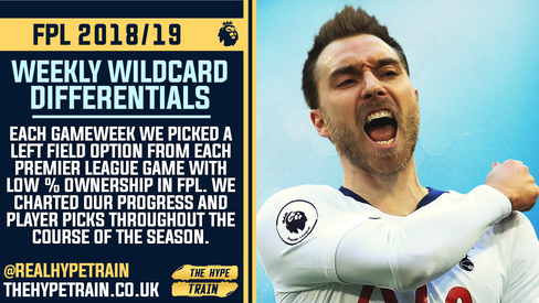 WEEKLY WILDCARDS 2018/19: FPL Season Performance