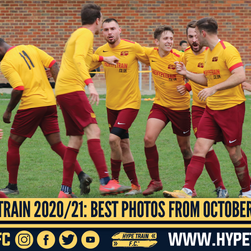 Hype Train FC 2020/21 Season: The Best Photos from October 2020