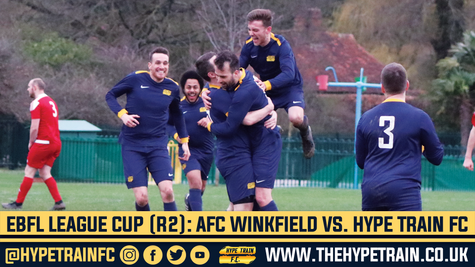PHOTO GALLERY: AFC Winkfield vs. Hype Train FC