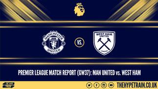 Premier League Match Report (22/07/20): Man United 1-1 West Ham