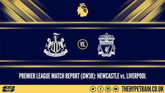 Premier League Match Report (26/07/20): Newcastle 1-3 Liverpool