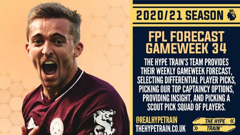 Premier League 2020/21: FPL Gameweek 34 Fantasy Forecast