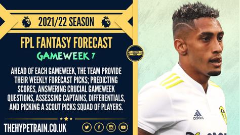 Premier League 2021/22 Season: FPL Gameweek 7 Fantasy Forecast