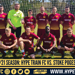 EBFL 2020/21 Season: Hype Train FC vs. Stoke Poges Saints FC