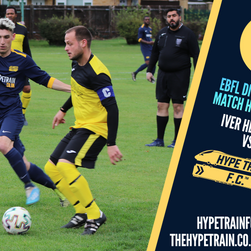 EBFL Division One Highlights - 2020/21 Season: Iver Heath FC vs. Hype Train FC
