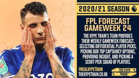 Premier League 2020/21: FPL Gameweek 24 Fantasy Forecast
