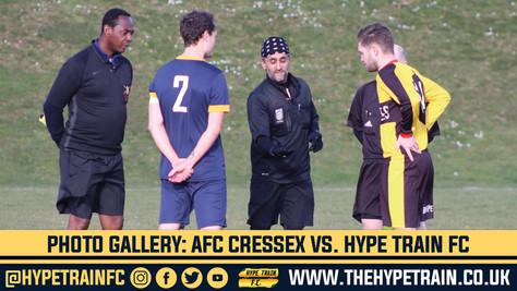 PHOTO GALLERY: AFC Cressex vs. Hype Train FC