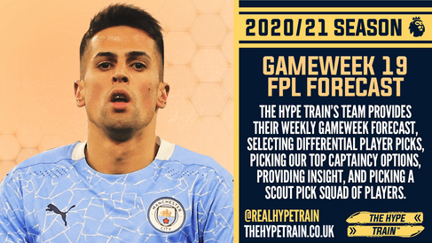 Premier League 2020/21: FPL Gameweek 19 Fantasy Forecast