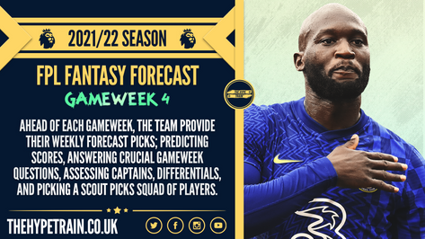 Premier League 2021/22 Season: FPL Gameweek 4 Fantasy Forecast