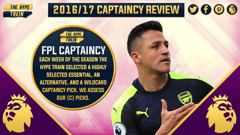 CAPTAINCY HYPE 2016/17: End of Season Review