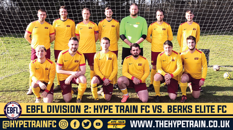 EBFL Division 2 Match Report: Hype Train FC 2-2 Berks Elite FC