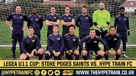 Legea Ultimate Eleven Cup (Game 1): Stoke Poges Saints 3-1 Hype Train FC