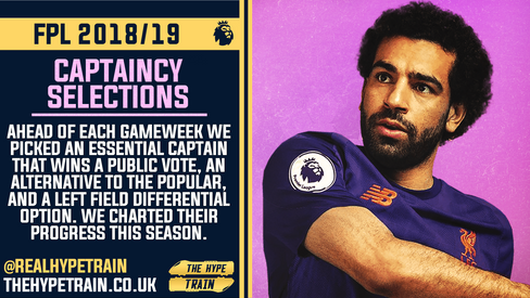CAPTAINCY HYPE 2018/19: FPL Season Performance