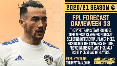 Premier League 2020/21: FPL Gameweek 38 Fantasy Forecast