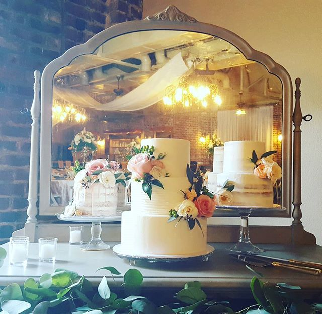 Gorgeous triple #2016weddingcakes #fresh