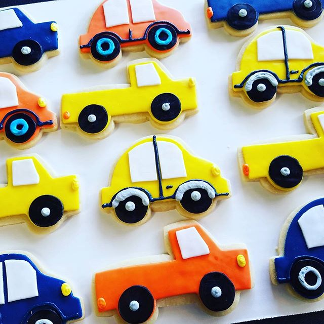 Beep beep! Vroom vroom! #sugarcookies #m