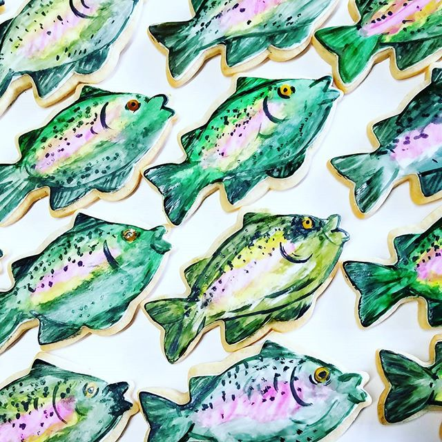 Fishy fishy! #sugarcookies #edibleart #g