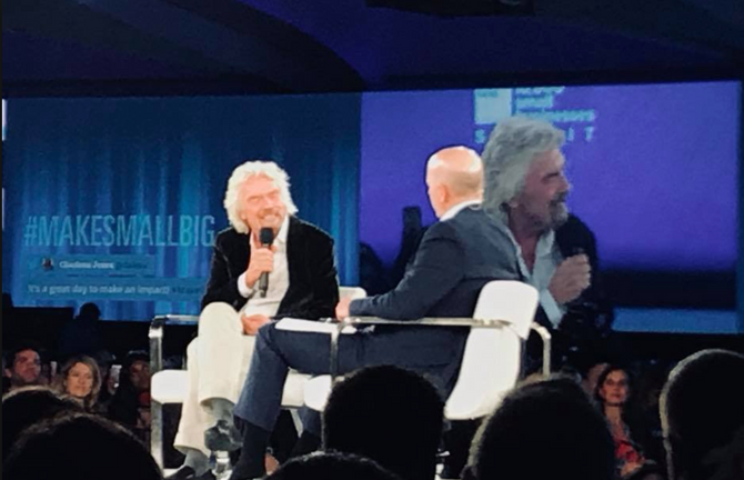 Richard Branson @GS10KSB Summit
