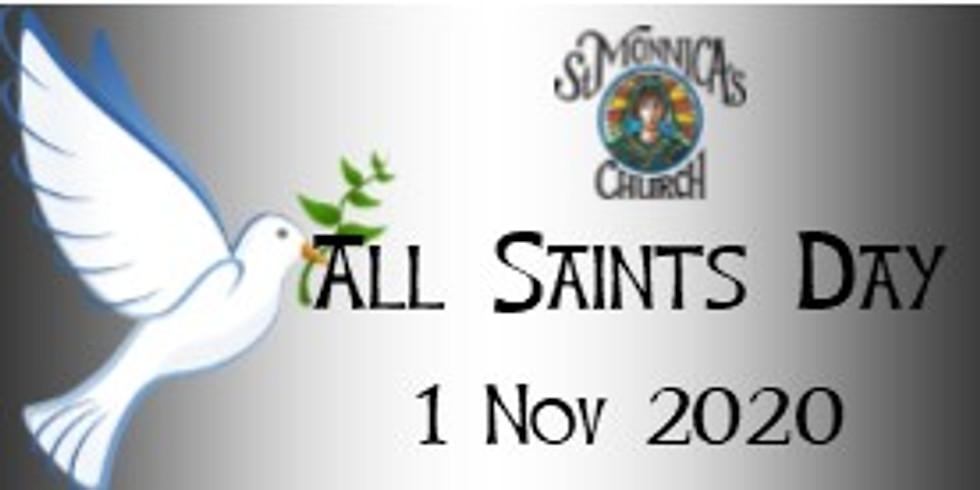 7:30 Said Mass - All Saints