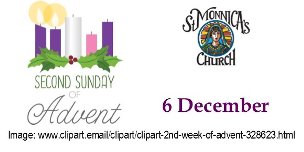 7:30 Mass - 2nd Sunday of Advent