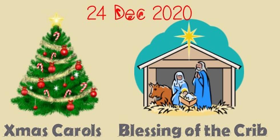 Xmas Carols and Blessing of the Crib (1)