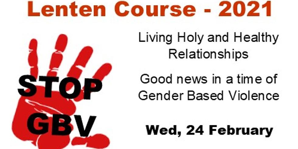 Wednesday Service - Lenten Course