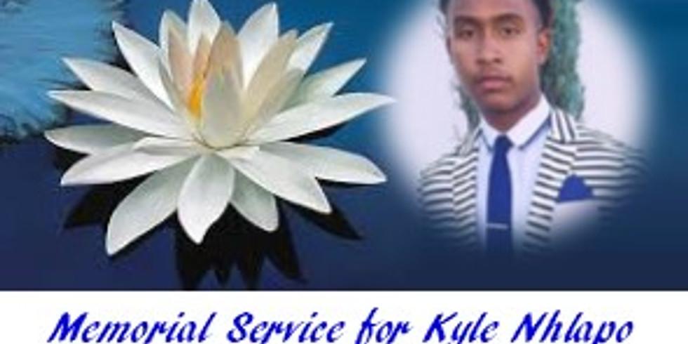 Memorial Service - Kyle Nhlapo