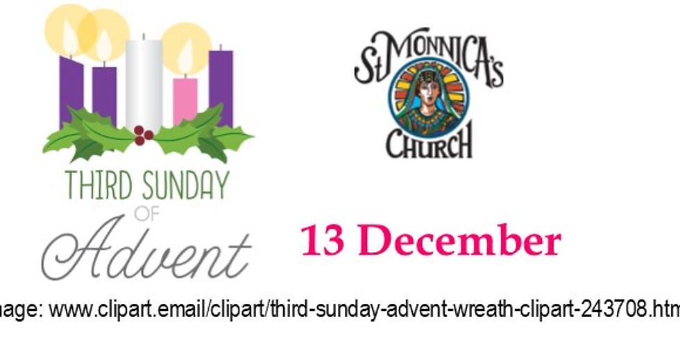 9:30 Mass - 3rd Sunday of Advent