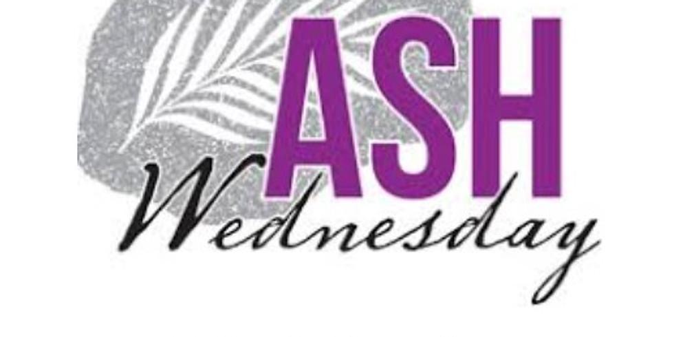 Ash Wednesday - 18:30 Service
