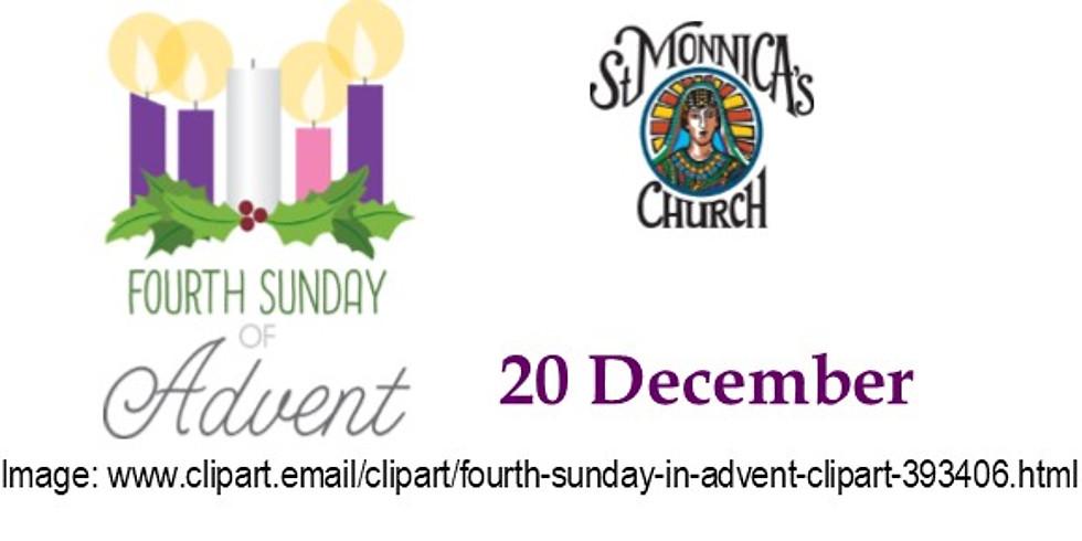 7:30 Mass - 4th Sunday of Advent