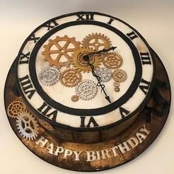 Clock Cake, Birthday Cake Leeds Yorkshire, HD Cakes