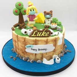 Animal crossing covid Birthday Cake, Leeds, Yorkshire, HD Cakes