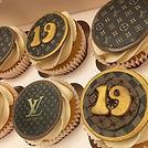Louis Vuitton cupcakes for _georgiaporto