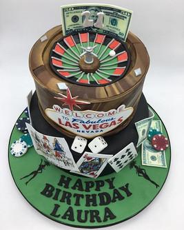 Casino Las Vegas Birthday Cake, Leeds Yorkshire HD Cakes