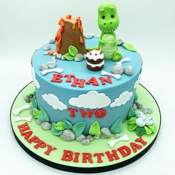 Dinosaur Birthday Cake, Leeds, Yorkshire, HD Cakes