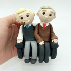 Still Game Birthday Cake Topper, HD Cake Toppers, HD Cakes, Leeds, Yorkshire