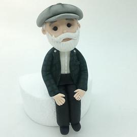 Custom figurine Birthday Cake Topper, HD Cake Toppers, HD Cakes, Leeds, Yorkshire