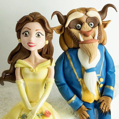 Beauty and the Beast, HD Cake Toppers, HD Cakes, Leeds, Yorkshire