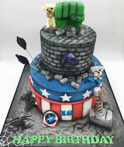 superhero avengers marvel Birthday Cake, Leeds, Yorkshire, HD Cakes