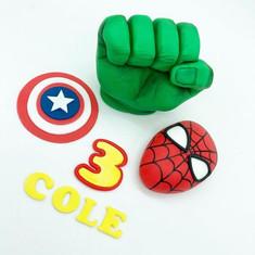 Superhero marvel Birthday Cake Topper, HD Cake Toppers, HD Cakes, Leeds, Yorkshire