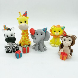 Party jungle safari animals Birthday Cake Topper, HD Cake Toppers, HD Cakes, Leeds, Yorkshire