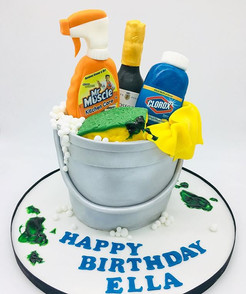 Cleaning Products Covid Birthday Cake, Leeds Yorkshire Cake, HD Cakes