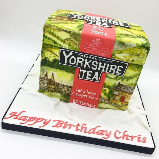 Yorkshire Tea,Birthday Cake, Leeds, Yorkshire, HD Cakes