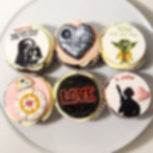 Star Wars Valentine's Day cupcakes by HD Cakes Leeds